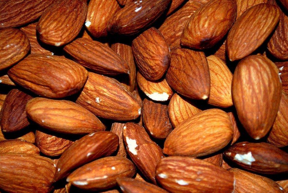 Almond, Almonds, Roasted, Roast, Nut, Food, Kernel