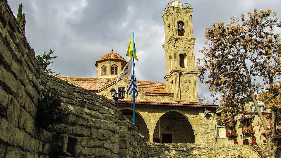 Cyprus, Tochni, Village, Church, Traditional