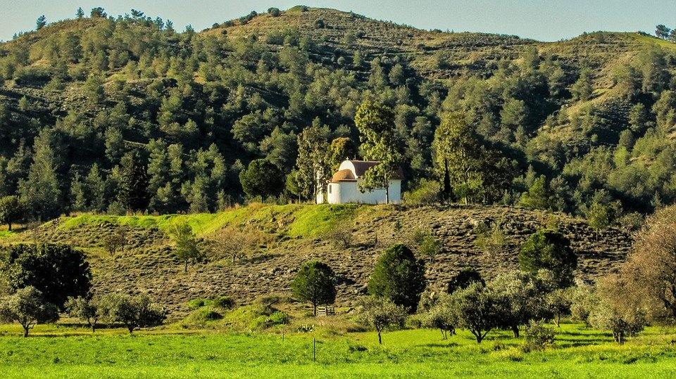 Cyprus, Countryside, Landscape, Troodos, Morning