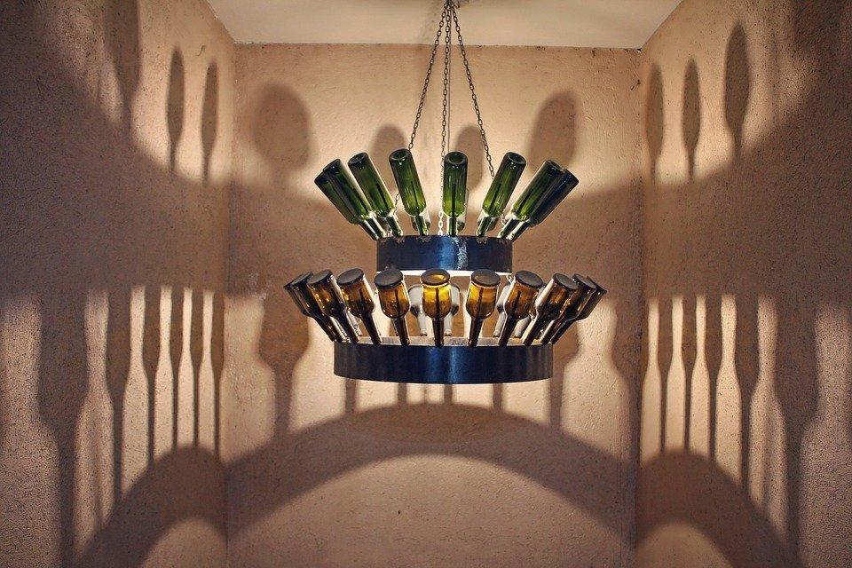 Cyprus, Pelendri, Winery, Wine, Bottles, Shadows, Rural