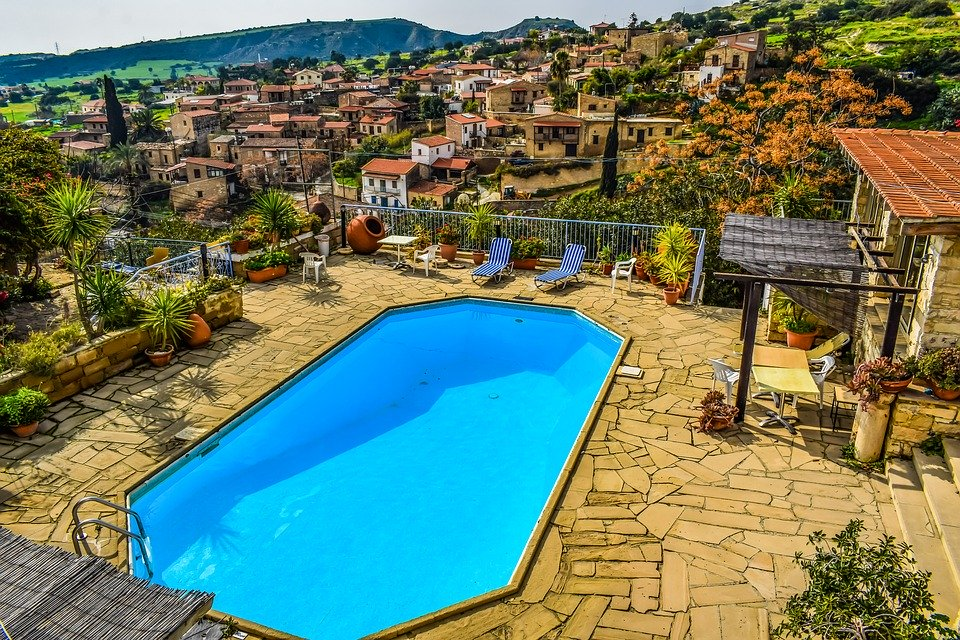 Dug-Out Pool, Resort, Water, Hotel, Agrotourism