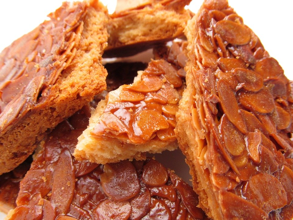 Florentines, Cake, Baked Goods, Suites, Almond
