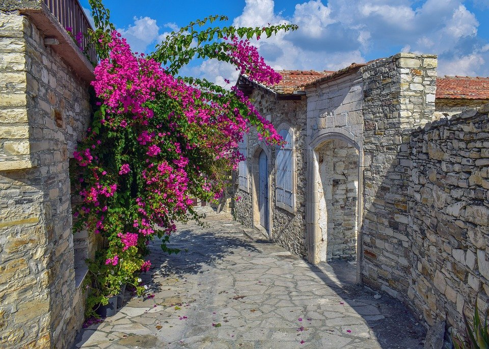 Street, Stone, Architecture, Village, Traditional